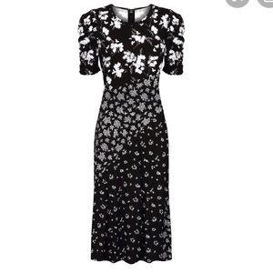 Michael Michael Kors Floral MIDI Dress NWT $295